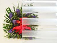 Flutes - Figuurglas voor PVC ramen