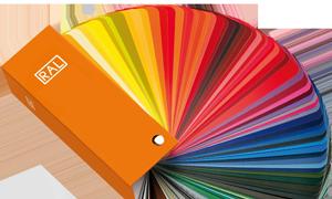 Kleuren-aanbod isolerende PVC ramen