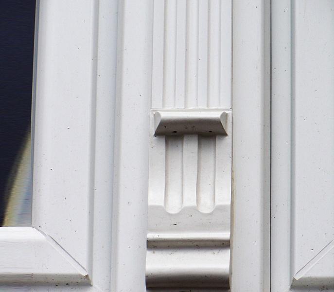 Sierlijst 016 - Sierlijsten voor PVC ramen